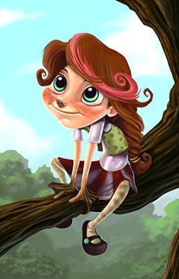 CBrabrant_tree_girl_brabant small